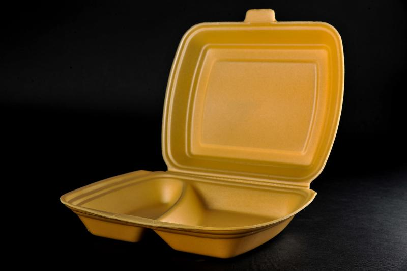Polystyrene container with a lid(menu box) MB 2