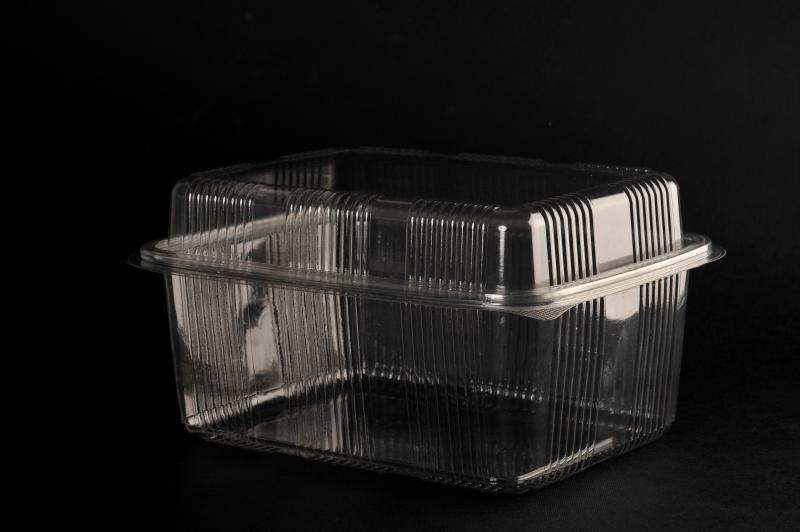 PET container (up to 60 °) 2000ml with a raised lid