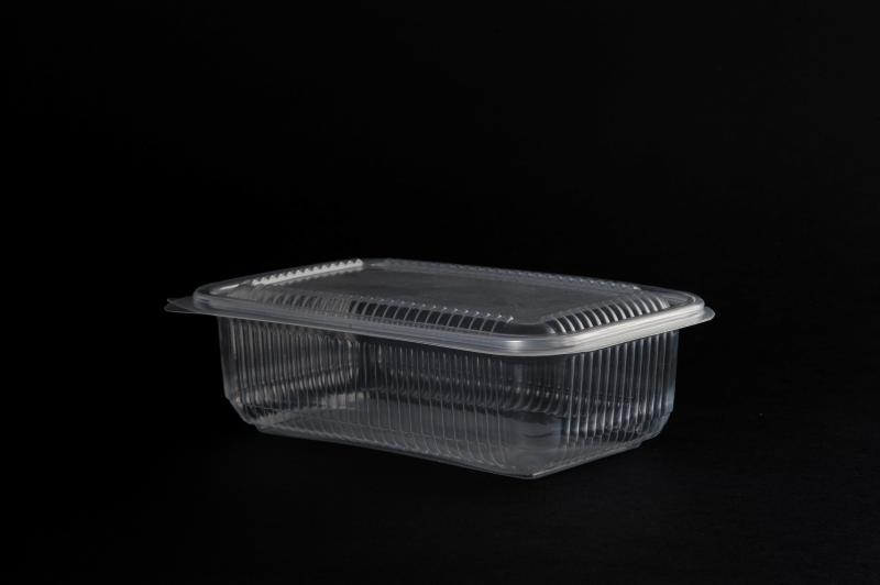 PP container (up to 120°) 750ml rectangular