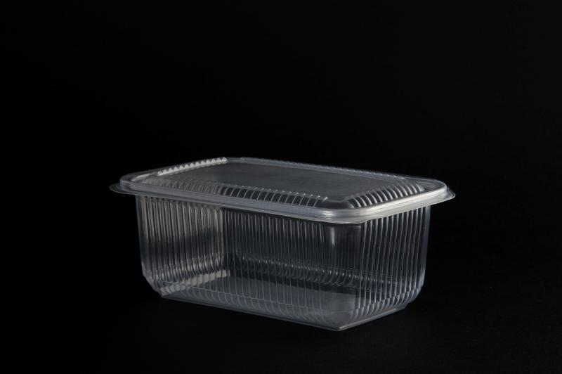 PP container (up to 120°) 1000ml rectangular