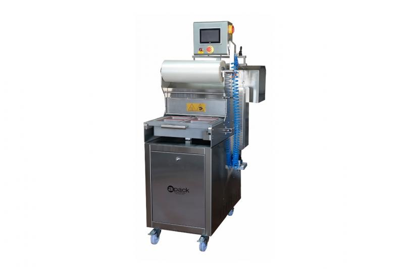 Semi automatic machine for welding (top sealing) vessels