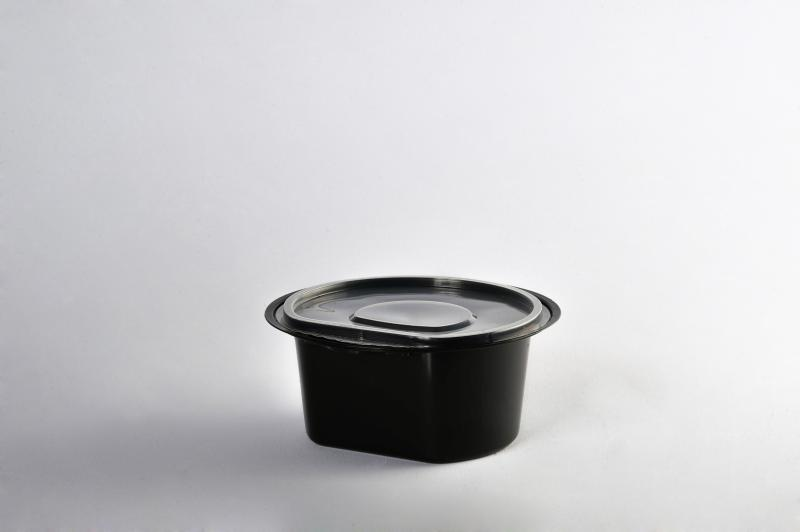 Black soup bowl 350ml