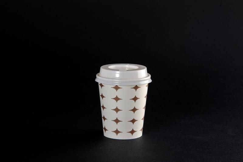 Glass - cardboard with lid 200ml