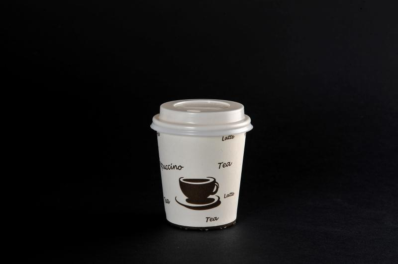 Glass - cardboard with lid 250ml