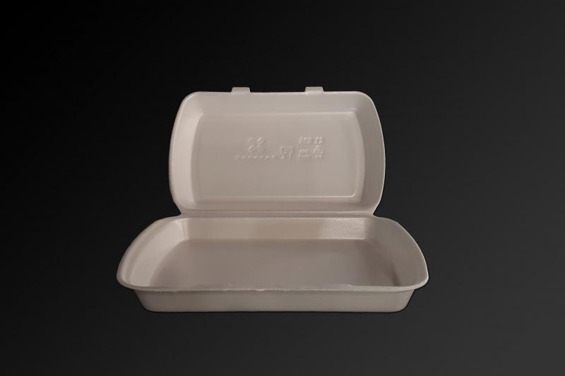 Polystyrene container with a lid (menu box) MB12