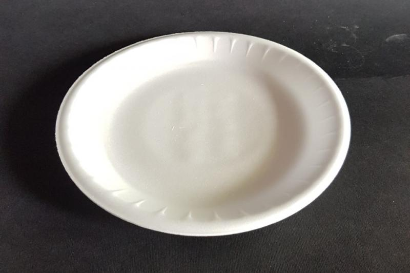 Plastic plate small shallow