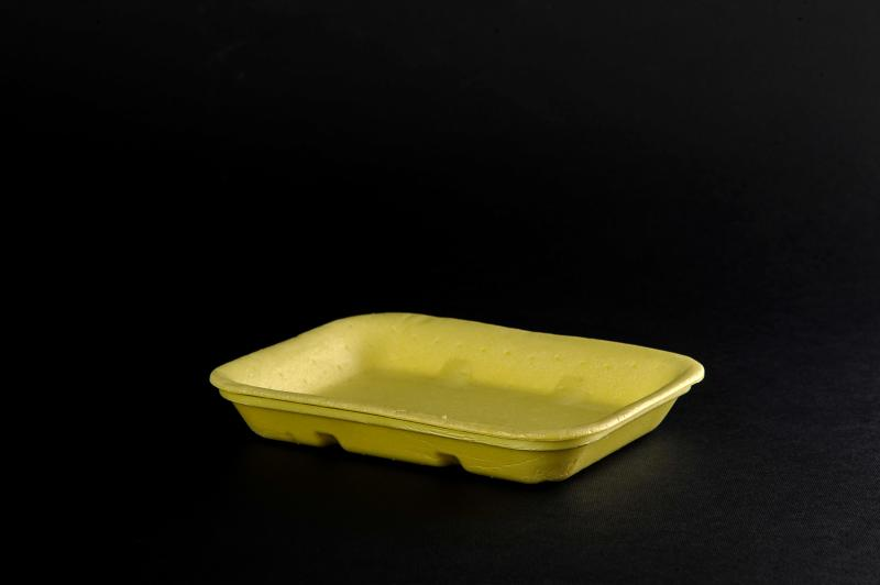Absorbent polystyrene container CX73 with perforation